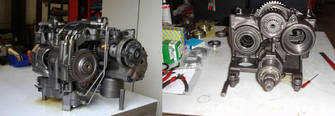 Réparation boite vario
