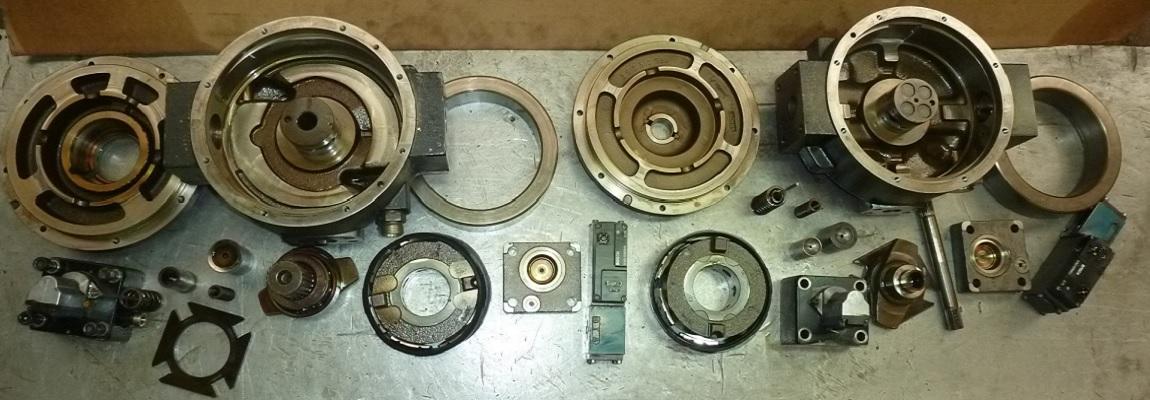 Réparation pompes et moteurs hydrauliques